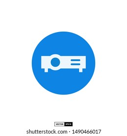 Projector icon, design inspiration vector template for interface and any purpose