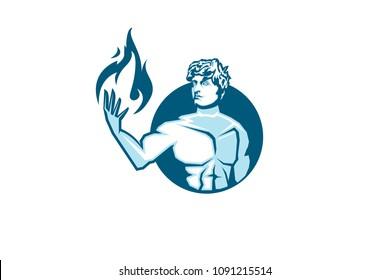 Пламя раскраска эмблема малаге дзюдо
