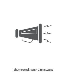 promotion symbol vector icon concept, isolated on white background