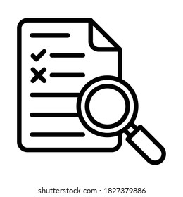Proofreading, report, file, correction fully editable vector icons