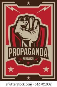 Propaganda Poster, Fist Hand