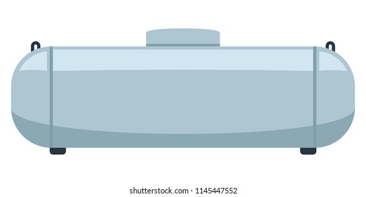 Propane Gas Tank. Clipart image isolated on white background