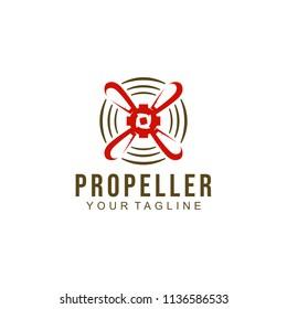 Propeller Logo Design