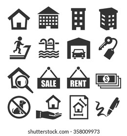 property icon set