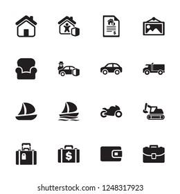 Property & Possession Icons - Set 1