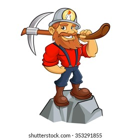 Prospector cartoon