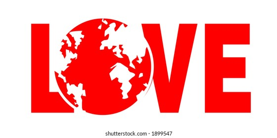 Protect the earth and covet it with love