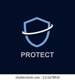 Protect Logo Vector Template Design Illustration