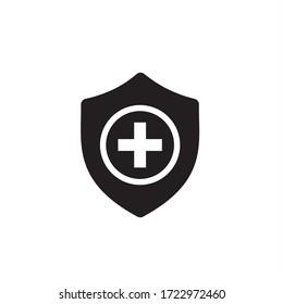 protection icon vector security medicine illustration