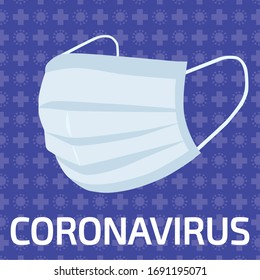 Protection mask against Coronavirus and Covid-19