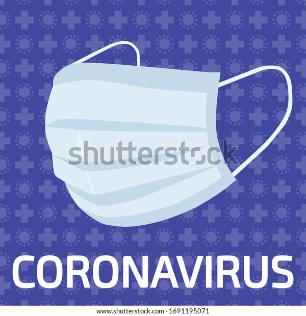 Masque de protection contre Coronavirus et Covid-19