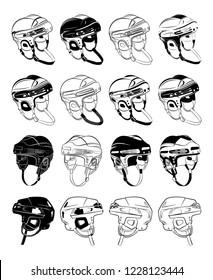 protective hockey helmets