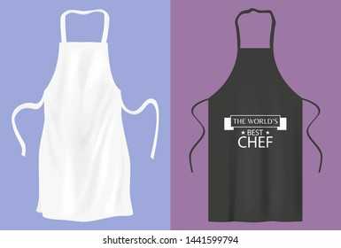 Protective kitchen apron  for cooking or baker