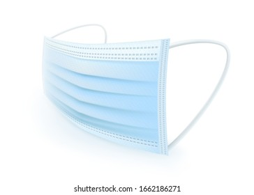 Protective mask with ear strap Cover mouth and nose, preventing dust, odor and various germs.