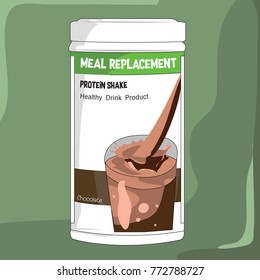 Protein Shake Chocolate