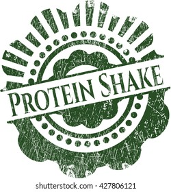 Protein Shake rubber texture