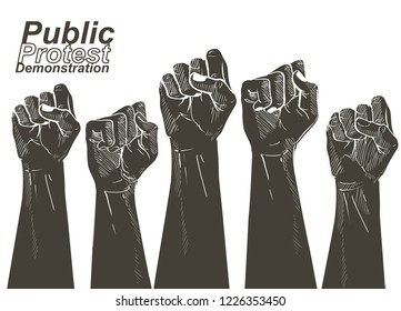 protest, rebel, political, demands, revolution, unity, cooperation, lives matter, activist, against, angry, banner, civil, concept, conflict, democratic, demonstration, election, equality, fist, freed