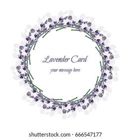 Provence Lavender Frame