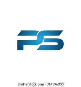PS company linked letter logo
