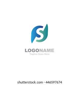 PS letter logo