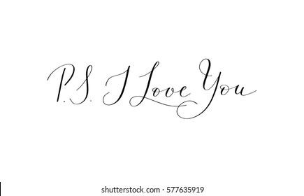 PS I Love You  Printable wall art