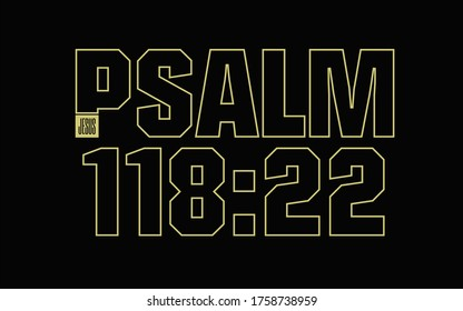 Psalm 118 22 Scripture Bible Verse Jesus Christ the Builder