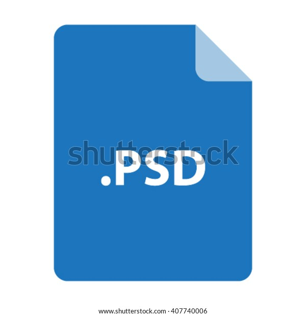 Psd File Format Vector Stock Vector (Royalty Free) 407740006