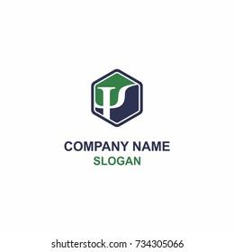 Psi symbol / initial logo.