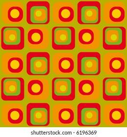 psychedelic background Retro-stylized pop
