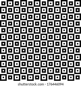 Psychedelic Checkered Pattern