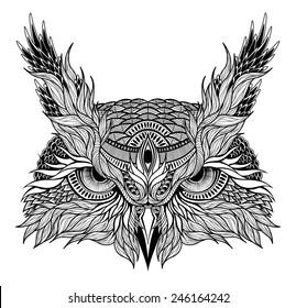 1000 Owl Tattoo Stock Images Photos Vectors Shutterstock