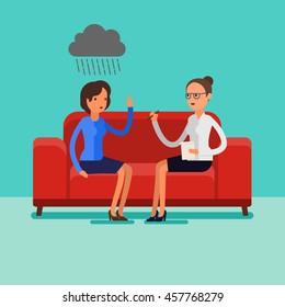 Friends Sofa Stock Vectors Images Vector Art Shutterstock