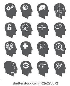 Psychology icons