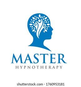 Psychology Logo. Hypnotherapy Logo Design Vector