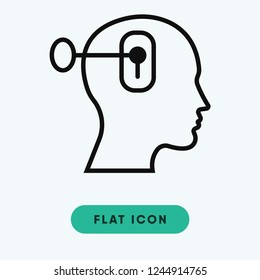 Psychology vector icon