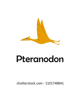pteranodon illustration. Element of travel icon for mobile concept and web apps. Thin line pteranodon icon can be used for web and mobile. Premium icon on white background