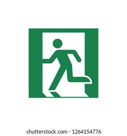 public safety sign (pictogram) / Emergency exit