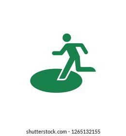 public safety sign (pictogram) / Safety evacuation