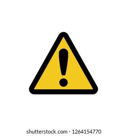 public safety sign (pictogram) / General caution