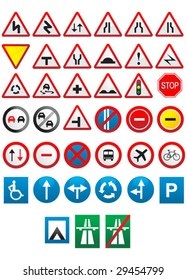 Public traffic signs