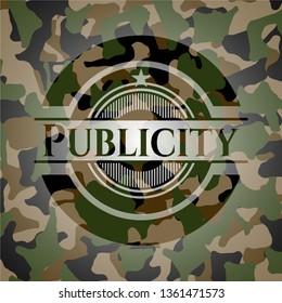 Publicity camouflage emblem