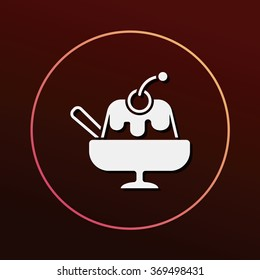 pudding jelly icon