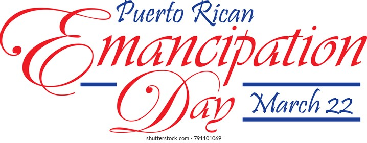 Puerto Rican Emancipation Day Banner