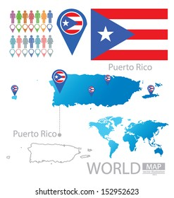 Puerto Rico World Map Images, Stock Photos & Vectors | Shutterstock