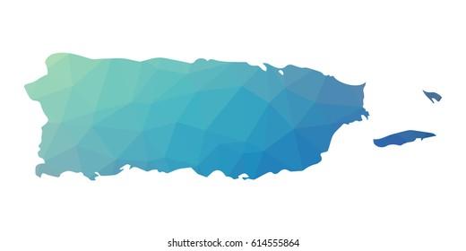 Puerto Rico Map Images, Stock Photos & Vectors | Shutterstock