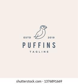 puffin logo design