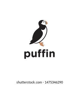 puffin vector.creative puffin design.modern puffin