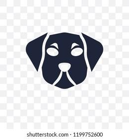 Puggle dog transparent icon. Puggle dog symbol design from Dogs collection. Simple element vector illustration on transparent background.