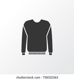 Pullover Icon Symbol. Premium Quality Isolated Jumper Element In Trendy Style.