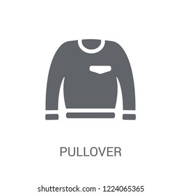 Pullover icon. Trendy Pullover logo concept on white background from Clothes collection. Suitable for use on web apps, mobile apps and print media.